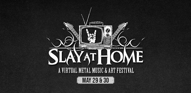 Le Festival SLAY AT HOME en Live Streaming (Suicide Silence, Tesseract, Trivium…)