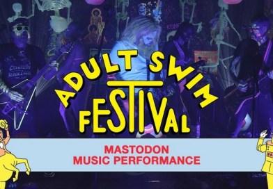 Le concert en vidéo de MASTODON pour le festival Adult Swim