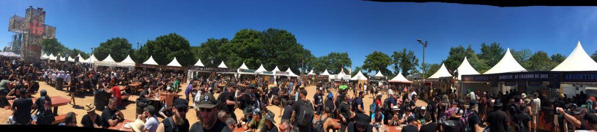 """Le HELLFEST  reçoit le titre de """"Festival de musique le plus végan-friendly"""""""