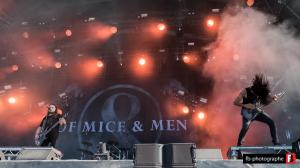 Of Mice and Men 13 @ Hellfest (Clisson) - 18 juin 2017