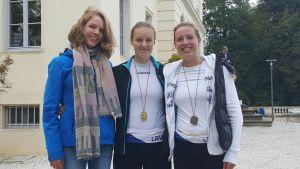 Barbara Thiele, Janina Baal, Marie Gerhardt