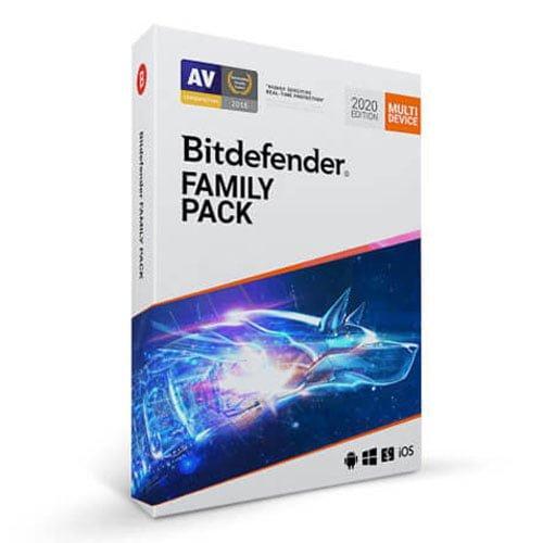 Bitdefender Family Pack BOX Antivirusni programi