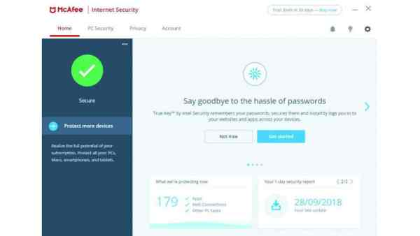McAfee internet security Antivirusni programi
