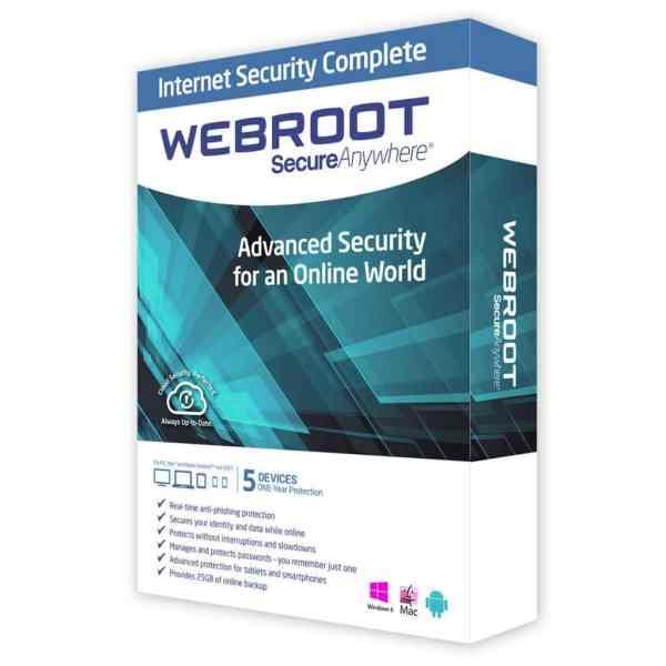 webroot internet security complete Antivirusni programi