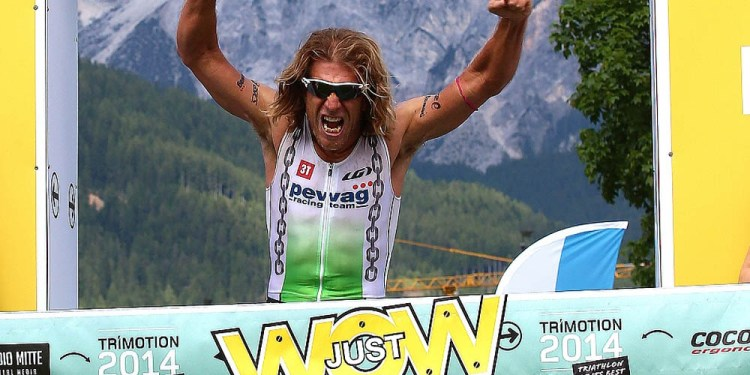 René Vallant (pewag racing team) gewinnt den TRI-MOTION 111 - Bild (c) GEPA/Trimotion