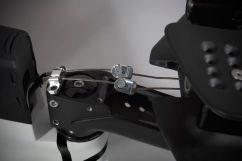 die Bremsseile sind mit einem einfachen Handgriff zu lösen