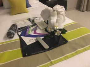 Tolles Willkommensgeschenk im Thanyapura-Resort