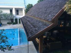 Es gibt auch Pools nur zur Entspannung