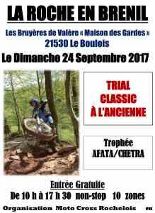 trial la roche en brénil 2017