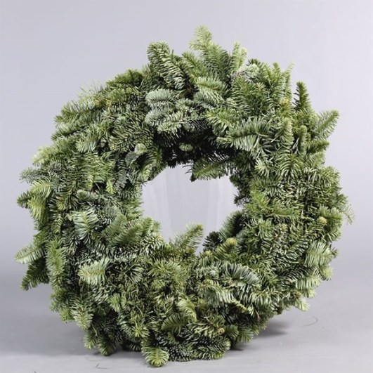 Spruce Ring Green 30cm - Half Bound