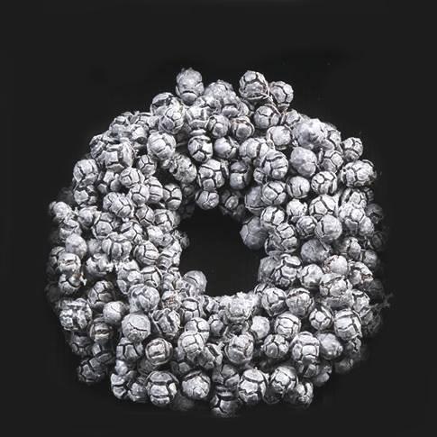 Wreath - Cypress Grey Waxed
