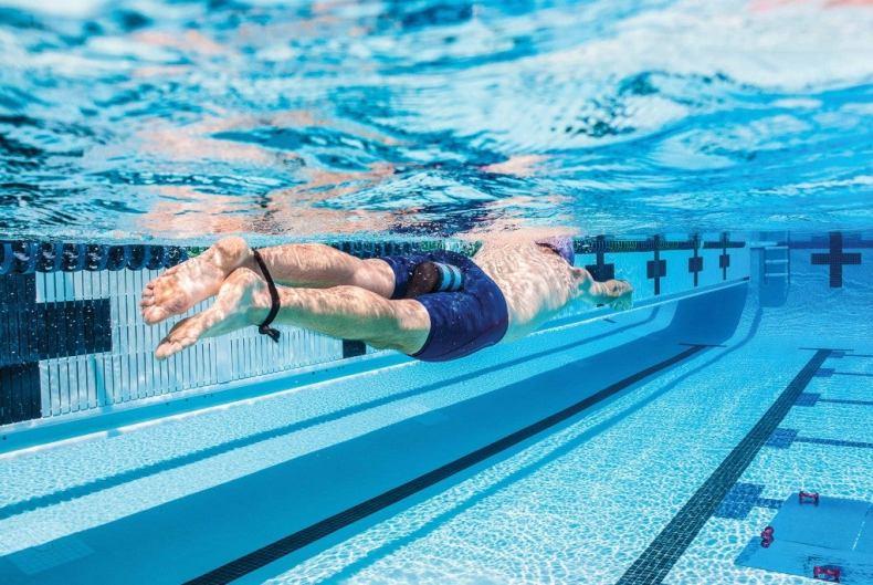 Utilisation d'un groupe dans l'entraînement de natation - Triathlète
