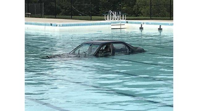 zwemmen en autorijden