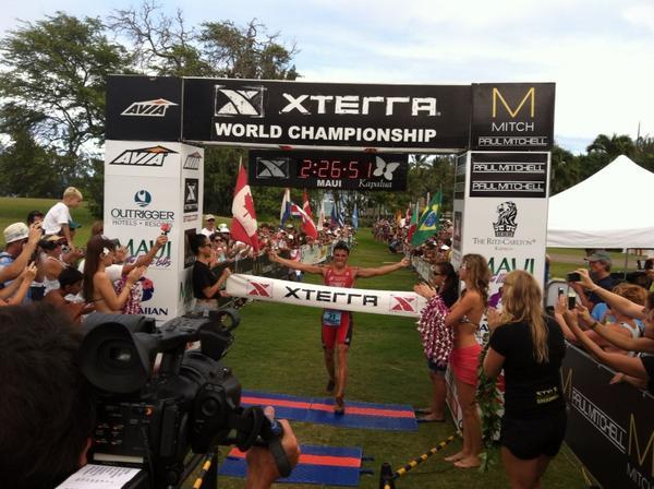 Noya gana el Campeonato del Mundo Xterra