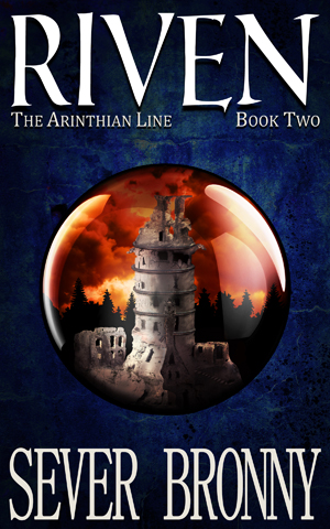 Riven (The Arinthian Line) awesome amazing epic fantasy book novel cover