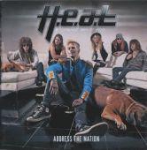 H.E.A.T. - Adress The Nation Artwork