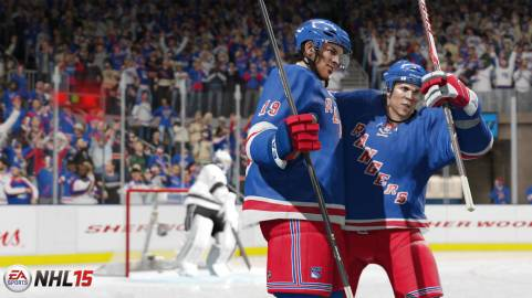 NHL15-Screen-NYR-GroupCele_WM - Tribe Online Magazin