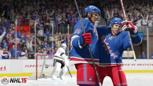 NHL15-Screen-NYR-GroupCele_WM - Tribe Online Magazin