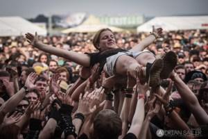 Festival-Atmosphäre