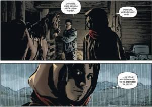 Lazarus 02 - Der Treck der Verlierer - Ausschnitt Seite 17 - Tribe Online Magazin