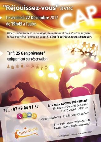Soirée de noël @ Salle Glodie évènement | Viry-Châtillon | Île-de-France | France