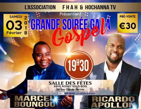 Soirée gala gospel @ Salle des fêtes  | Rosny-sous-Bois | Île-de-France | France
