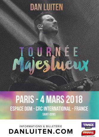 Soirée de louange avec Dan Luiten @ Espace DGM | Saint-Denis | Île-de-France | France