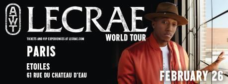 Lecrae en concert à Paris @ Les Etoiles | Paris | Île-de-France | France