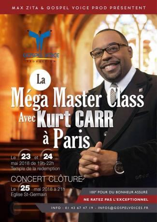 Mega Masterclass avec Kurt Carr à Paris @ Temple de la Rédemption   Paris   Île-de-France   France
