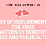 List of Requirements for your Maternity Benefits SSS and Philhealth