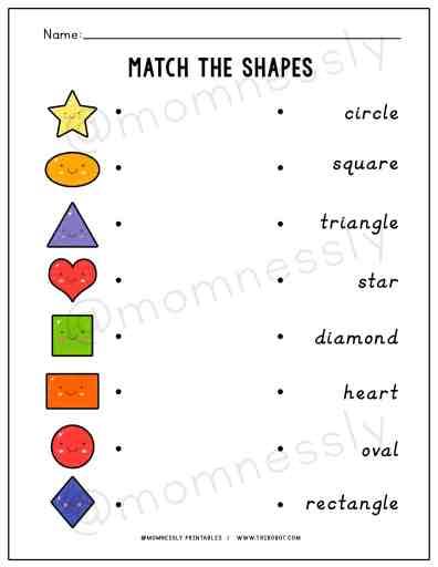 Free Printable: Shapes Activity Worksheets