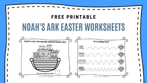 Noah's Ark Easter Activity Set