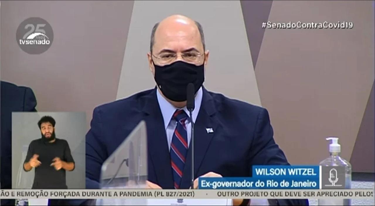 CPI da Covid aprova sessão secreta com Wilson Witzel