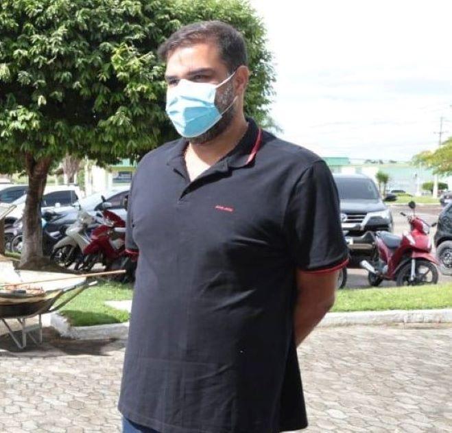 Frederico Barbosa Lemos relembra posse de concursados de SFI