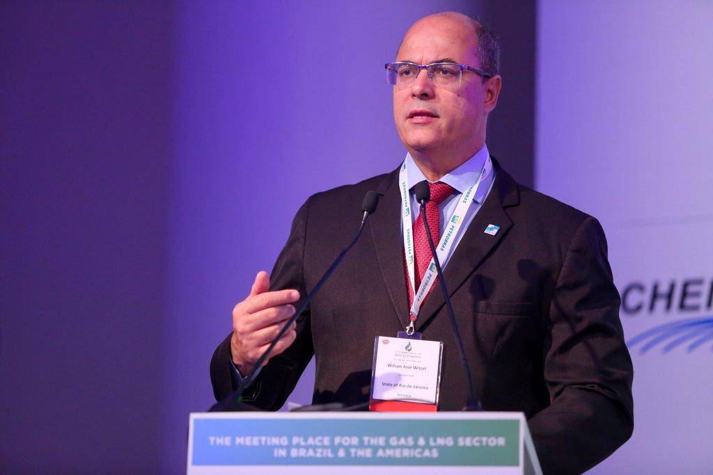Witzel destaca a importância do setor de óleo e gás no estado