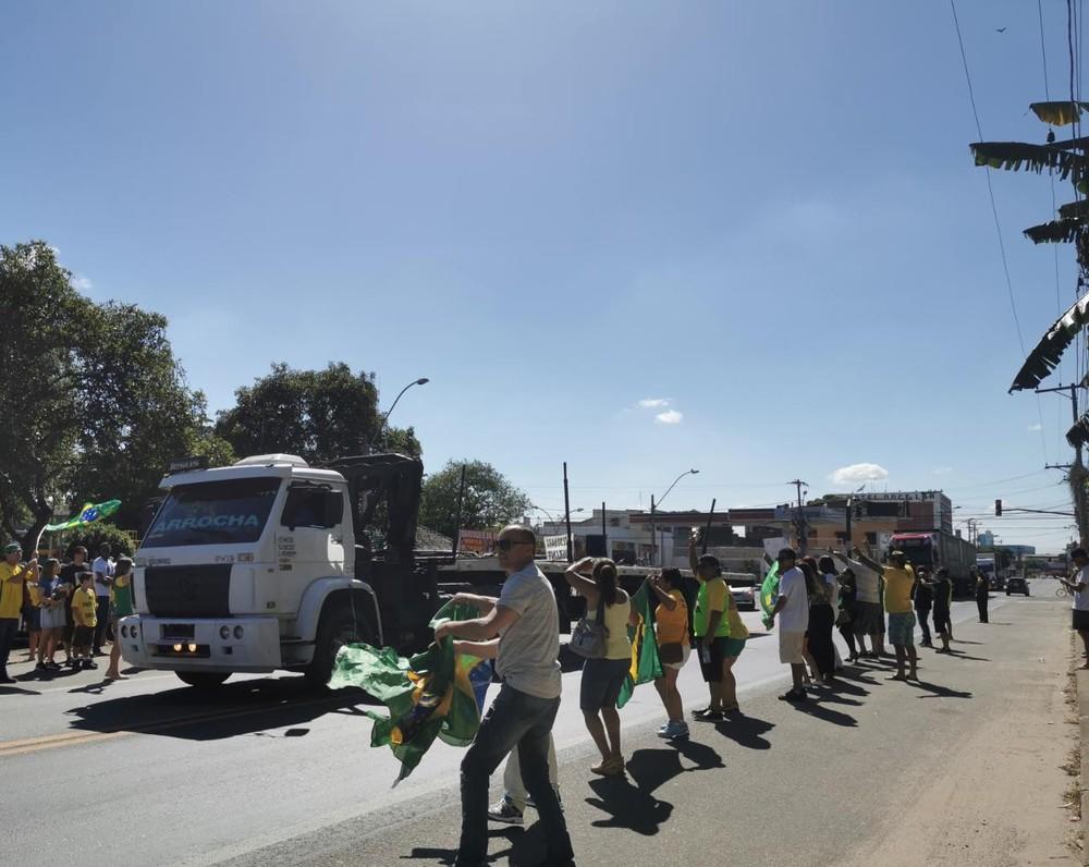 Atos de apoio ao governo Bolsonaro em Campos e região