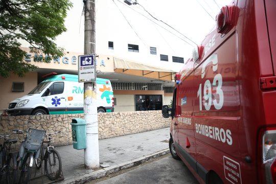Acidente deixa três feridos em SJB