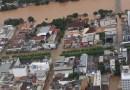 Imagens aéreas mostram estragos causados pelas chuvas em Itaperuna