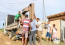 Cheia do Muriaé: Prefeitura faz mudança de 10 famílias de Três Vendas