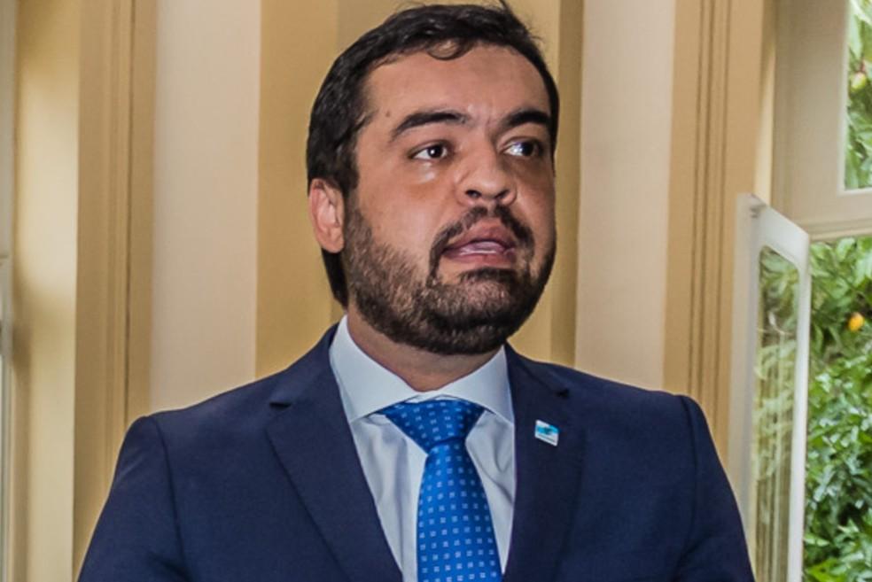 'Se ele fez isso, será processado por denunciação caluniosa', diz Cláudio Castro, sobre acusações de Edmar Santos