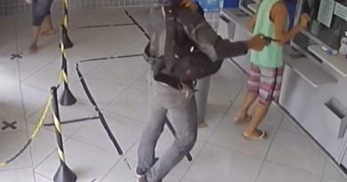 Homens tentam assaltar lotérica e fazem disparos e Guarus