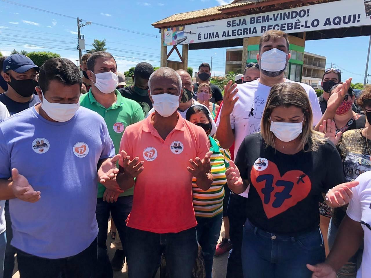 Romário reafirma apoio a Francimara em SFI
