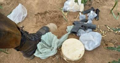 Homem detido com armas, drogas e munições em SFI