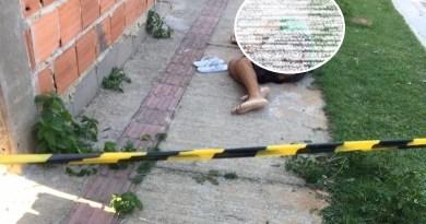 Homem morto a tiros no Parque Prazeres, em Guarus