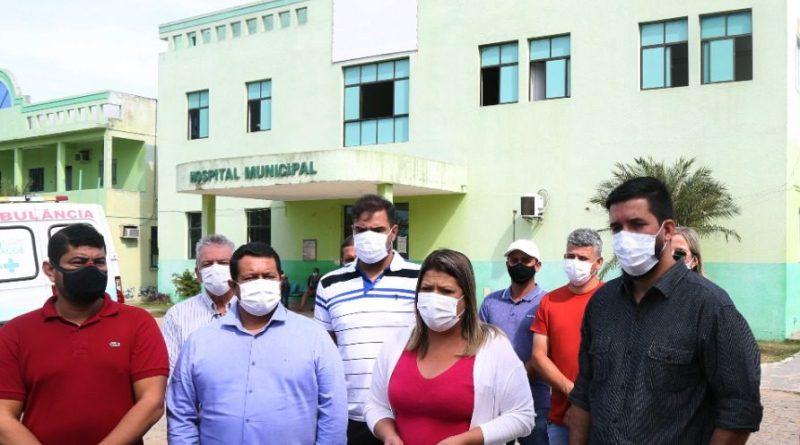 Prefeita Francimara anuncia R$ 5 milhões para reforma e ampliação do Hospital Manoel Carola