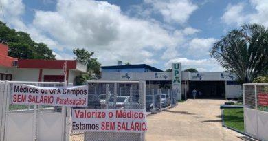 Médicos e profissionais de saúde da UPA fazem paralisação em Campos