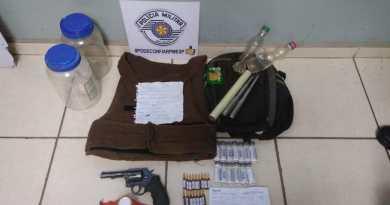 Três pessoas são presas em operação realizada por policiais militares e civis em Taquaritinga (SP)
