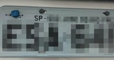 Placas de veículo furtado em Matão são encontradas em avenida de Taquaritinga (SP)