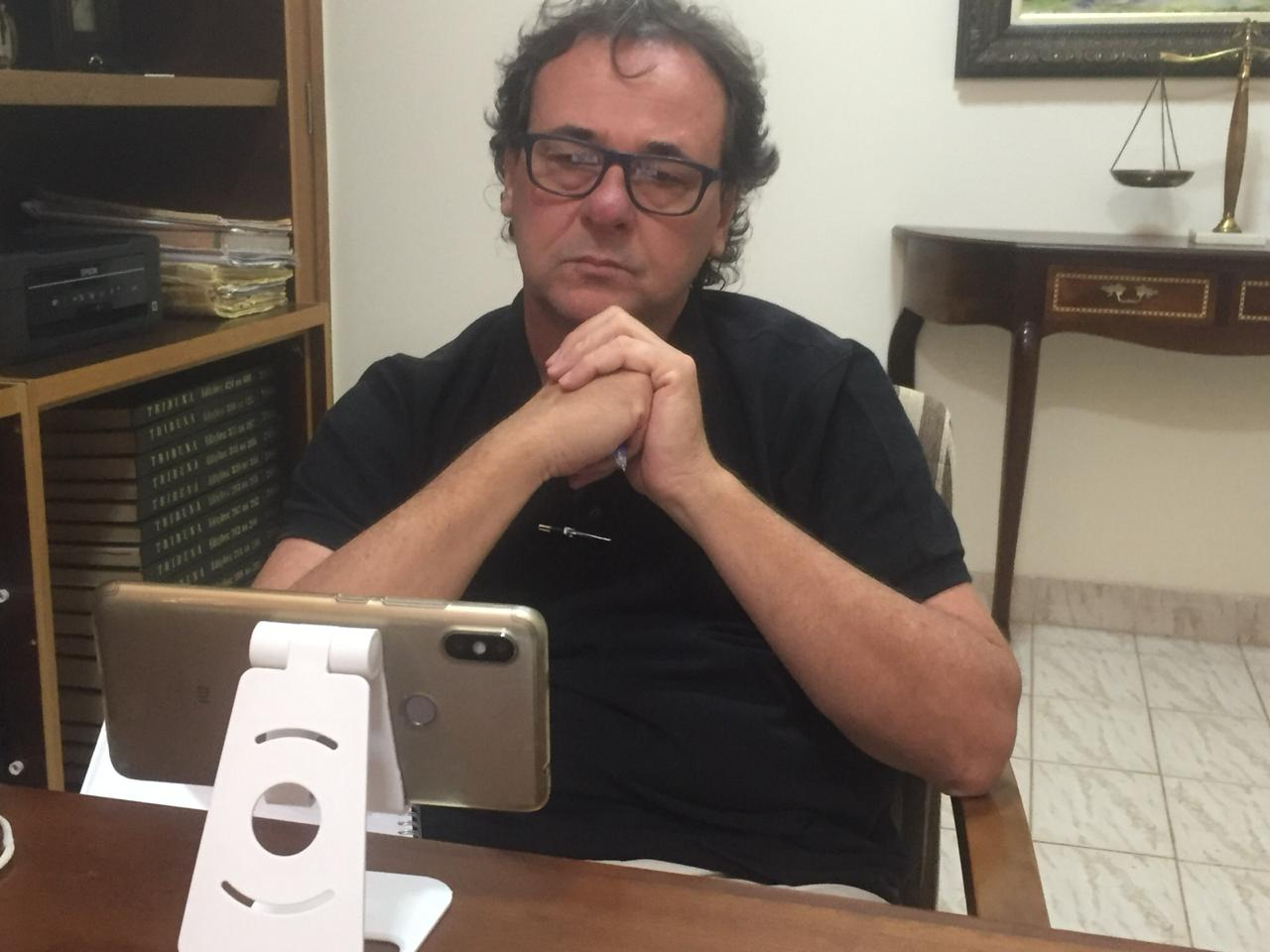 Presidente do CAT participa de reunião virtual com a FPF