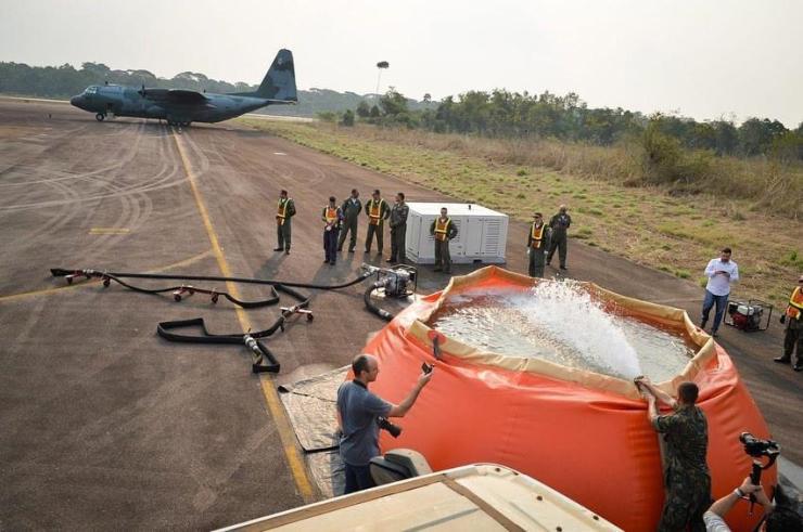 Vídeo: Força Aérea já atua no combate a queimadas em Rondônia e em outros estados